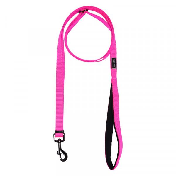 Rukka Pets Form Neon riem, neon roze