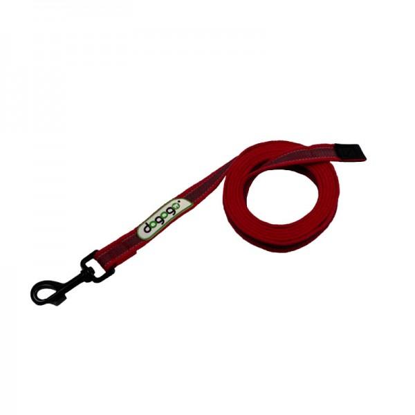 Dogogo antislip riem zonder handvat 20mm breedte, rood