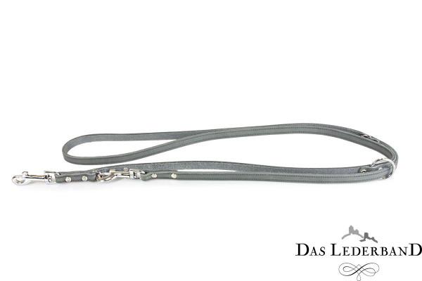 Das Lederband Verstelbare Looplijn Weinheim, Zilver