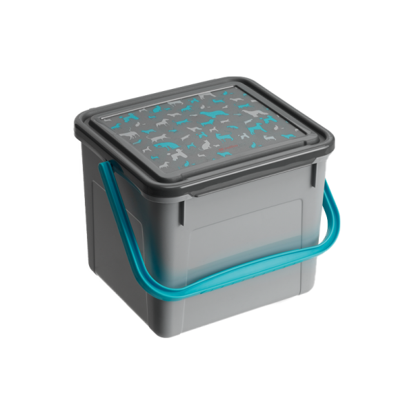 Rotho MyPet voercontainer 4,5 l grijs