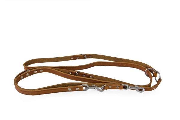 Das Lederband verst. looplijn Weinheim maroon 300cm