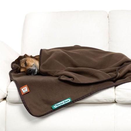 Doctor Bark zachte fleece deken bruin