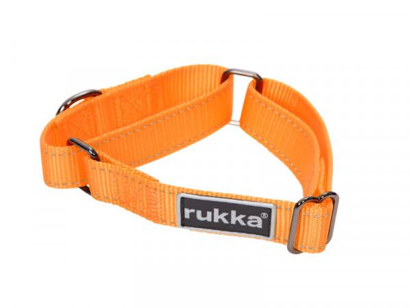 Rukka Pets Form Web Halsband, Oranje