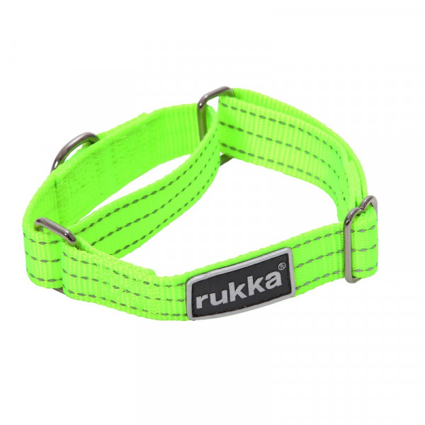 Rukka Form Web Neon halsband, Neon Geel