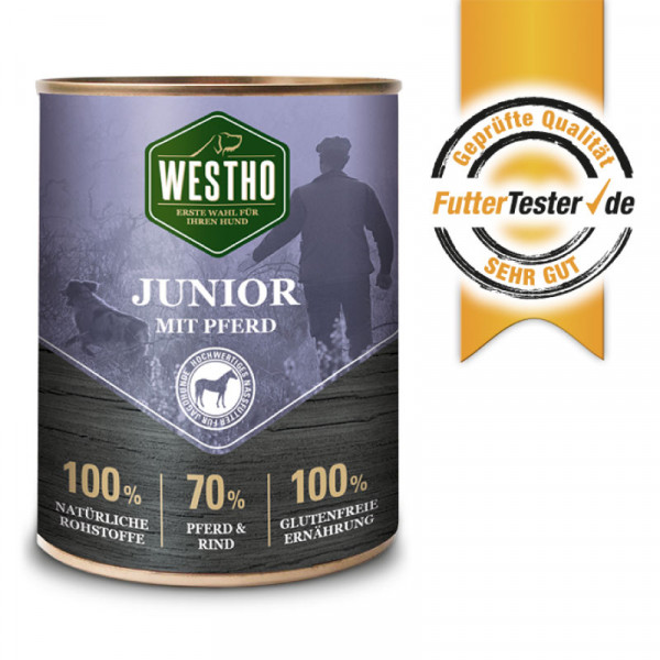 Westho Junior blikmenu 800g