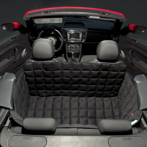 Doctor Bark 2-deurs achterbank beschermhoes voor Coupes en Cabrio, Zwart