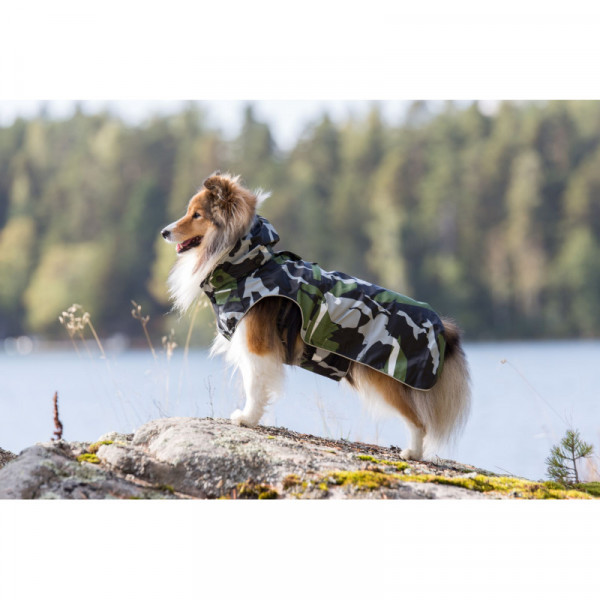 Rukka Pets Stream regenjas, camouflage