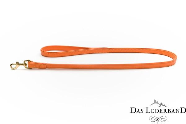 Das Lederband riem Como, Oranje