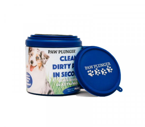 Pet Product Innovations Paw Plunger Blauw, Medium