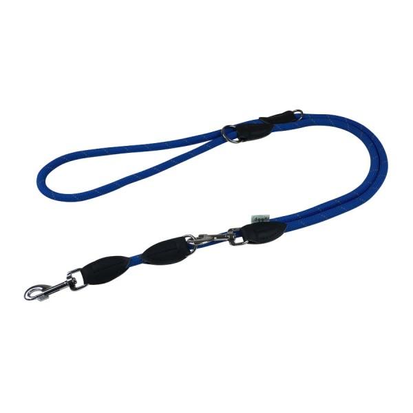 Dogogo verstelbare touw lijn 12mm breedte, blauw