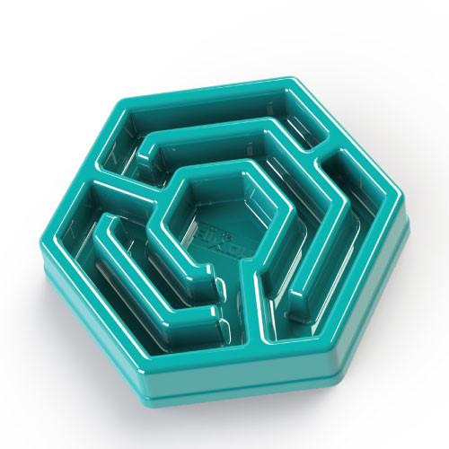 Aikiou Hexa Bowl anti-schrok bak, blauw