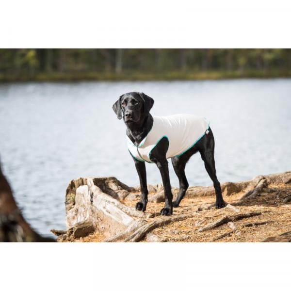 Rukka Pets Sunny UV - protectie t-shirt voor honden, licht grijs