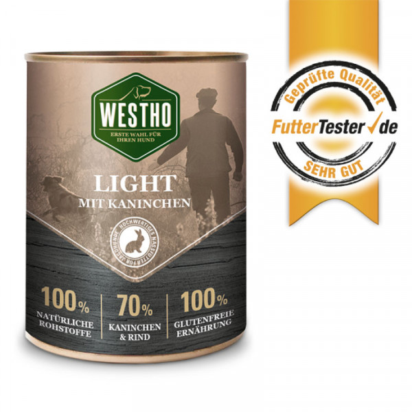 Westho Light blikmenu 800g