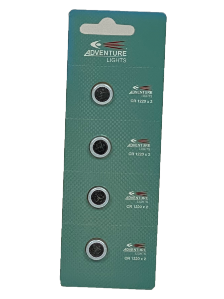 Adventure Lights Baterij CR 1220 x 2 voor Pet Beacon (4 stuks)