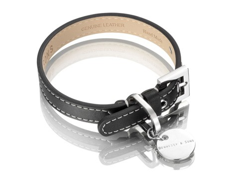 Henessy & Sons Royal halsband, zwart