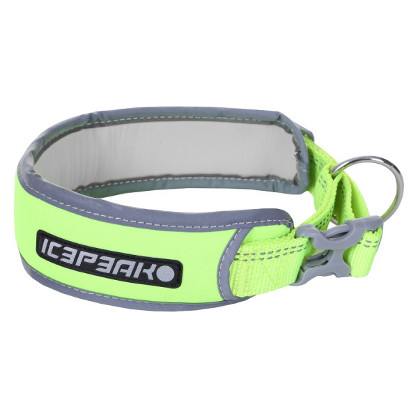 Icepeak Brightly Hight Visiblity Halsband, Neon Geel
