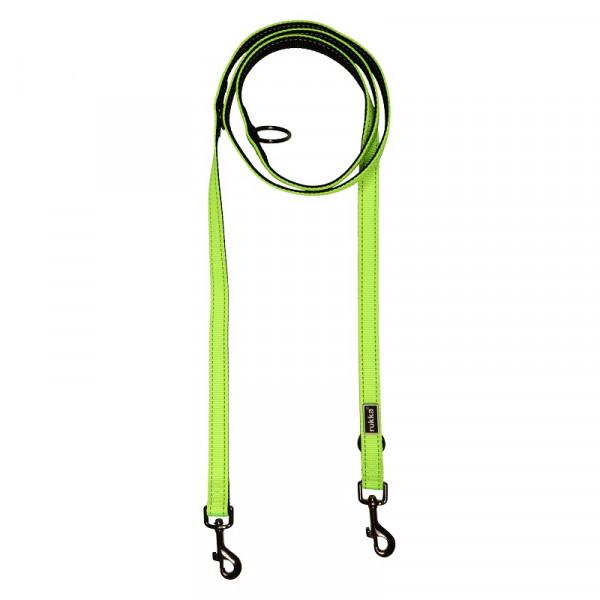 Rukka Pets Form Neon riem, Neon Geel
