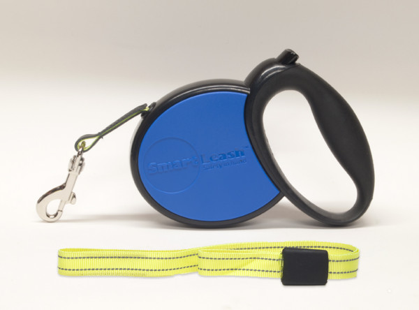 Pet Product Innovations Rollijn Smart Leash Blauw