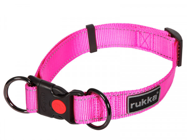 Rukka Pets Bliss Halsband, roze