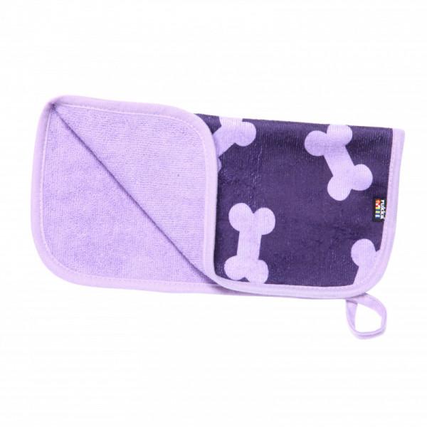 Rukka Pets Micro Paw Handdoek, paars