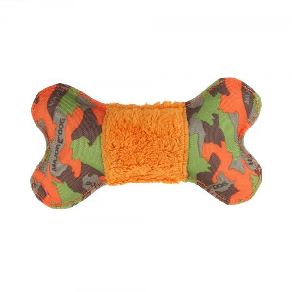 Major Dog bot met pluche