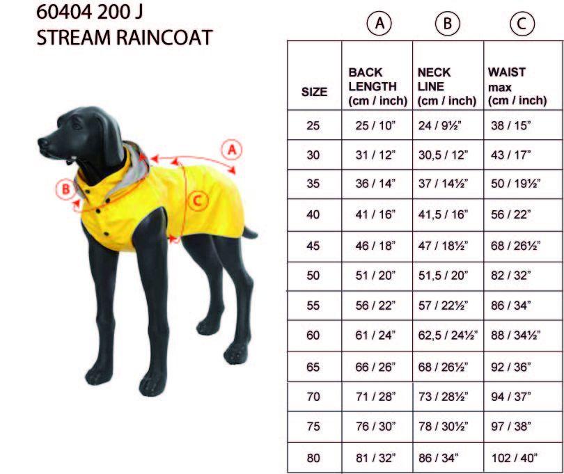 rukka-stream-raincoat-neon-size-chart