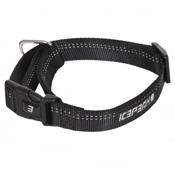 Icepeak Pet Winner Basic Halsband, Zwart