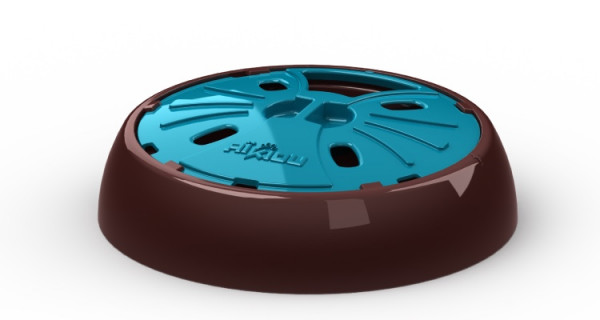 Aikiou Junior Interactive Bowl, bruin/blauw