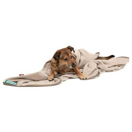 Doctor Bark zachte fleece deken beige