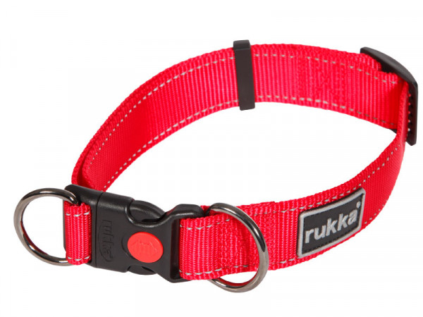 Rukka Pets Bliss Halsband, Rood