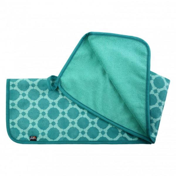 Rukka Pets Micro Medium Handdoek, emerald