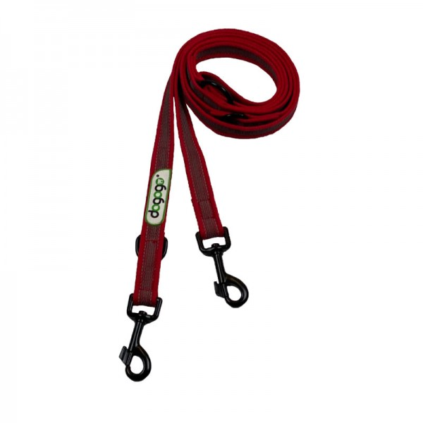 Dogogo verstelbare antislip riem 20mm breedte, rood