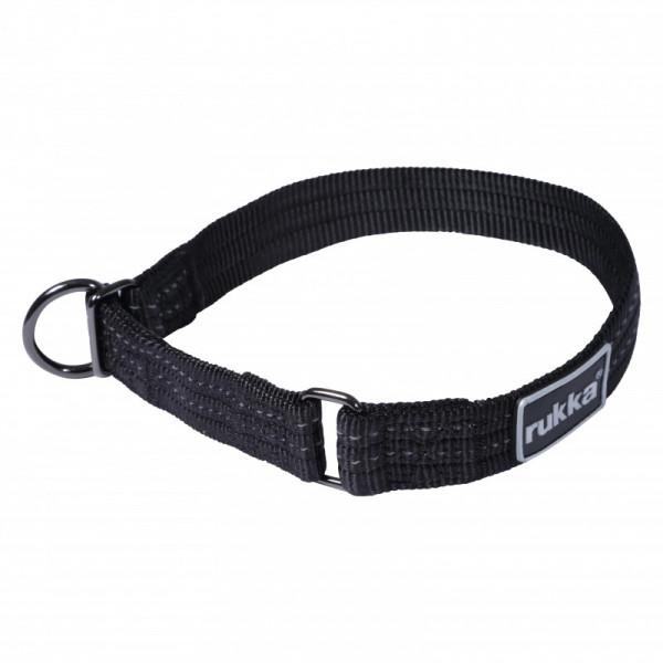 Rukka Pets Cozy Sliphalsband, Zwart