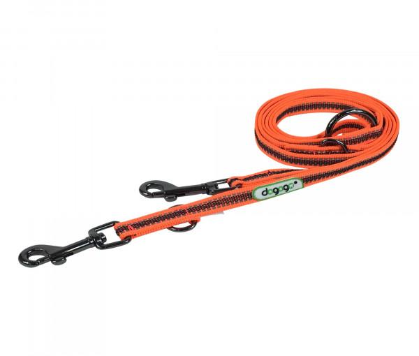 Dogogo verstelbare antislip riem 14mm breedte, oranje