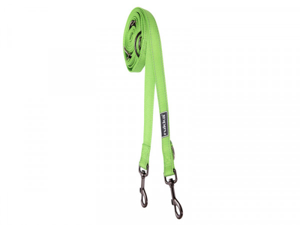 Rukka Pets Bliss multi riem, lime