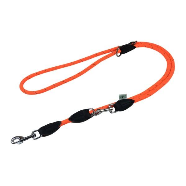 Dogogo verstelbare touw lijn 12mm breedte, oranje