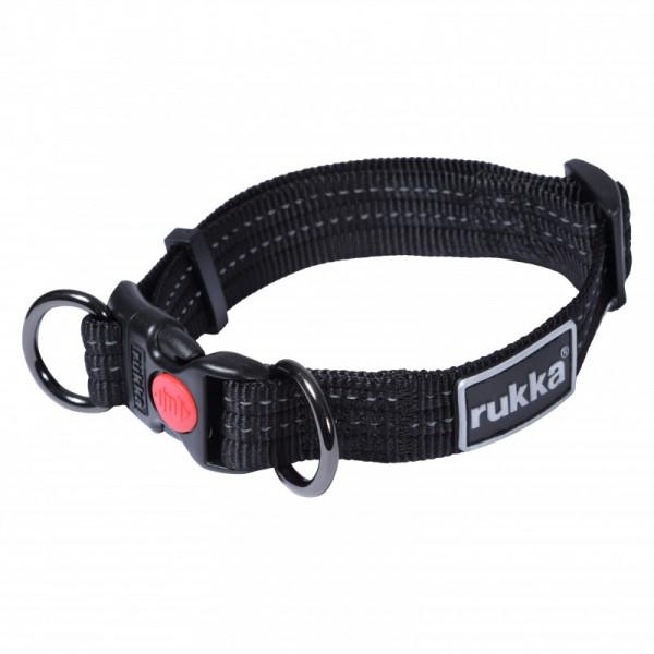 Rukka Pets Cozy Halsband, zwart