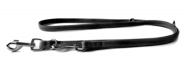 Das Lederband trainingsriem Boston zwart