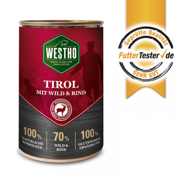 Westho Tirol blikmenu 6 x 400g