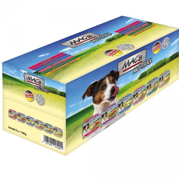 MAC's Dog Kuipjes 4x Multipack (6 x 150g)
