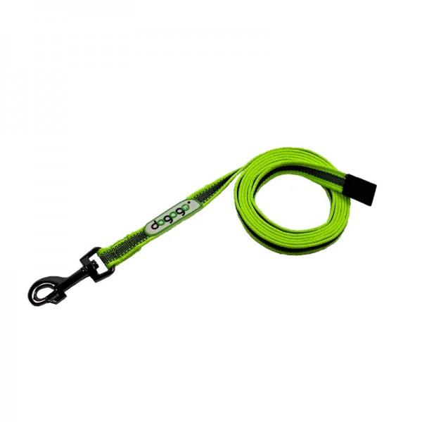 Dogogo antislip riem zonder handvat 20mm breedte, groen