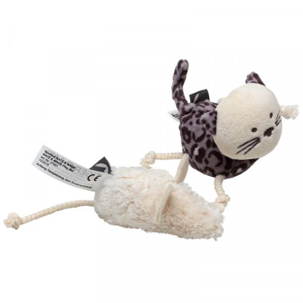 Tiger Cat Speelset Kat & Muis